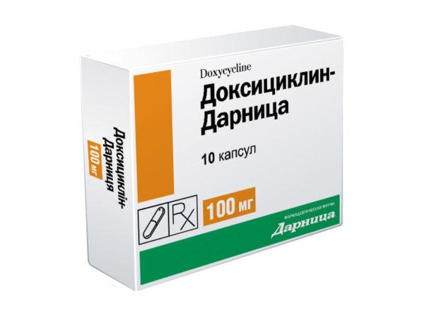 ДОКСИЦИКЛИН (Doxycyclinum)