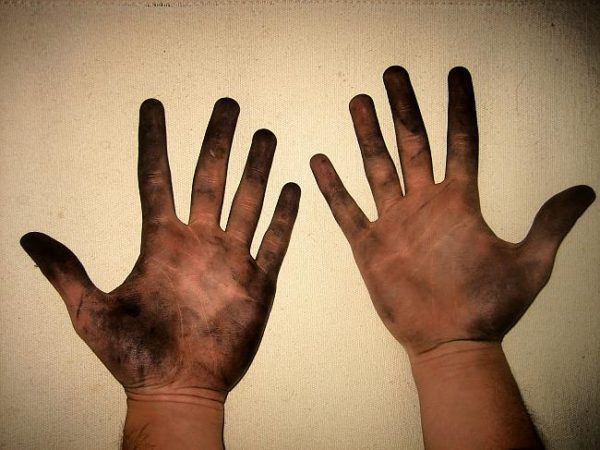 Грязные пальцы