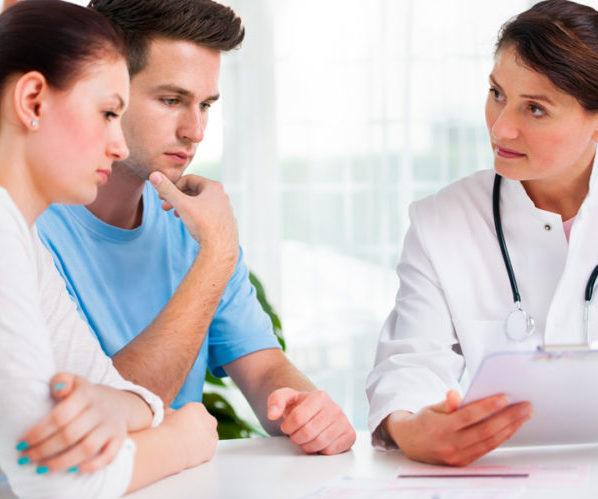 Пара у врача