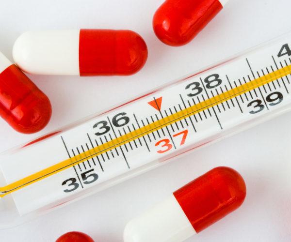 Почему не проходит температура после приема антибиотиков