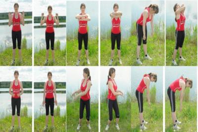 дыхание комбинируется с физическими упражнениями