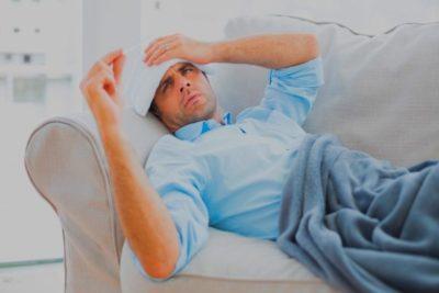 изменения происходят на фоне общих проявлений инфекции: повышение температуры тела, интоксикация
