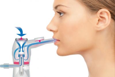 аэрозольный пар с частицами лекарства лучше вдыхать ртом