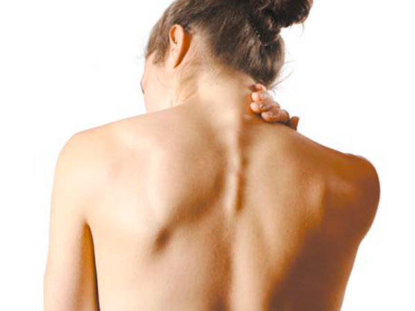 Есть ли лимфоузлы на спине возле позвоночника