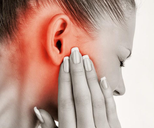 Воспаление мочки уха