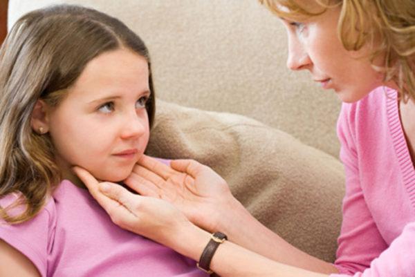 воспаления лимфатических узлов у детей