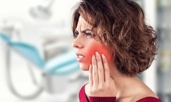 Увеличение шейных лимфоузлов при кариесе