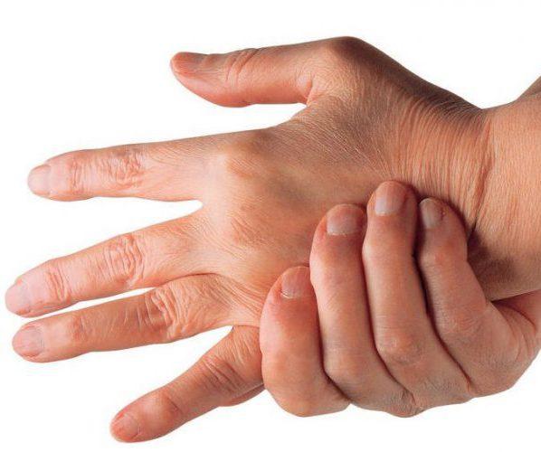 Судороги руки